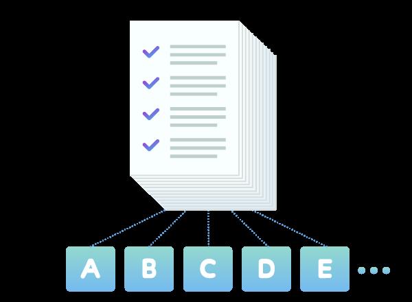 アンケート内容のテキスト類似仕分けおよびグループ化システム